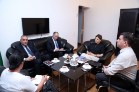 Посол Марокко посетил Центр перевода