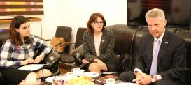 سعادة سفير جمهورية الأرجنتين يقوم بزيارة لمركز الترجمة الحكومي الأذربيجاني