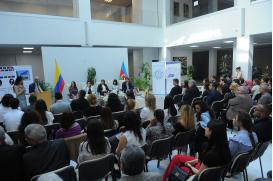 Azərbaycan və Kolumbiya şeiri antologiyasının təqdimatı oldu