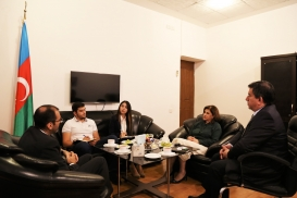 Costa Rica Chief of Mission Visits Azerbaijan Translation Centre