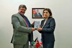 Norwegian Embassy Official Visits Azerbaijan Translation Centre