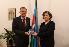 Serbian Ambassador Visits AzTC