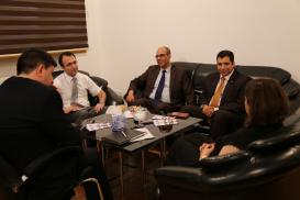Ambassadeur du Royaume du Maroc en Azerbaïdjan a visité le Centre de Traduction