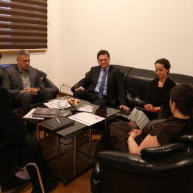 L'Ambassadeur de Turquie a visité le Centre de Traduction