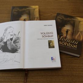"""El libro """"Conversación en el camino"""" del conocido escritor y traductor Saday Budagli, fue publicado"""