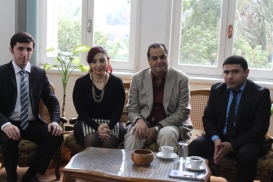 AzTC Representatives Meet Director of Egypt's National Centre for Translation