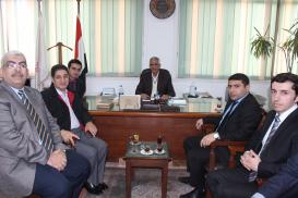 Tərcümə Mərkəzinin əməkdaşları Qahirənin Ain Şəms Universitetində olublar