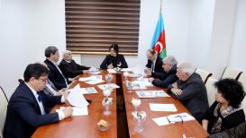 المجلس العلمي لمركز الترجمة التابع لمجلس الوزراء الأذربيجاني عقد اجتماعا دوريا