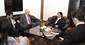 Arjantin Büyükelçisi Tercüme Merkezini Ziyaret Etti