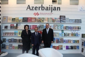 AzTC Representatives Visit London Book Fair 2015