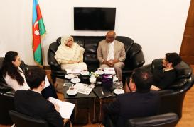 Sudanese Ambassador Visits AzTC