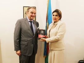 Charge d'Affaires ad interim of the Embassy of Spain Visits AzTC