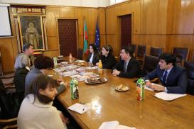 Die Delegation des Übersetzungszentrums zu Besuch in Sofia