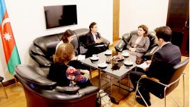 Colombian Diplomats in Baku Vısıt AzTC