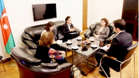 Columbia Cumhuriyeti Resmisi Sayın Marta Galindo Tercüme Merkezi'ni Ziyaret Etti