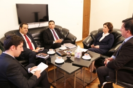 Director of the Egypt National Translation Centre Visits AzTC