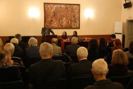 Die Präsentation der aserbaidschanischen Literatur im Nationalen Kulturpalast (NDK) in Sophia