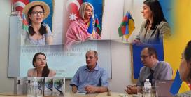 Kiyevdə şair Salam Sarvanla görüş keçirilib