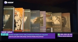 The work of the Azerbaijan Translation Centre introduced on Khazar TV