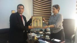 Azərbaycan Tərcümə Mərkəzinin Misir Mədəniyyət Mərkəzi ilə qarşılıqlı əməkdaşlıq görüşü keçirilib