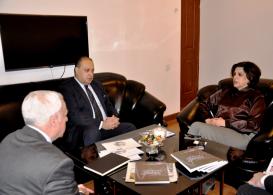 """السفير الأردني لدى جمهورية أذربيجان نصار إبراهيم محمد الحباشنه : """" يمكن ان يسمى مركز الترجمة بمنبر أذربيجان الى العالم"""
