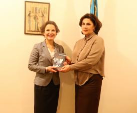 French Ambassador Visits AzTC