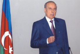 The National Leader Heydar Aliyev's Speech at the First Forum of Azerbaijani Youth