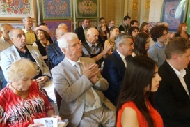 Modern Azerbaijani Poetry launched in Kyiv hosts a presentation for the book