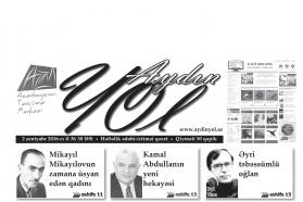 """""""Aydın yol"""" 02 sentyabr 2016-cı il"""