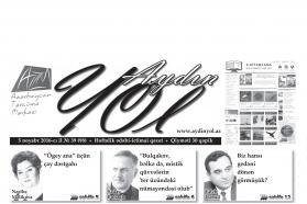 """""""Aydın yol"""" 05 noyabr 2016-cı il"""