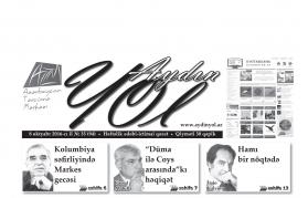 """""""Aydın yol"""" 08 oktyabr 2016-cı il"""