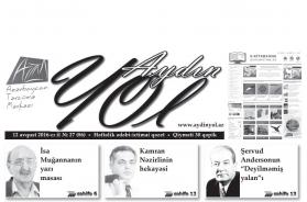 """""""Aydın yol"""" 12 avqust 2016-cı il"""