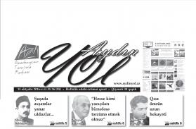 """""""Aydın yol"""" 15 oktyabr 2016-cı il"""