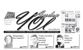 """""""Aydın yol"""" 17 dekabr 2016-cı il"""
