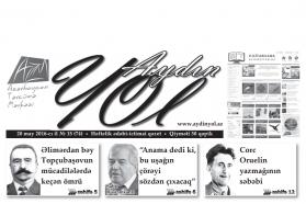 """""""Aydın yol"""" 20 may 2016-cı il"""
