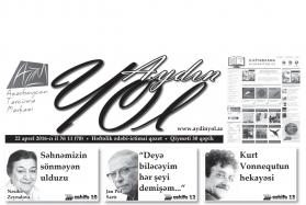 """""""Aydın yol"""" 22 aprel 2016-cı il"""