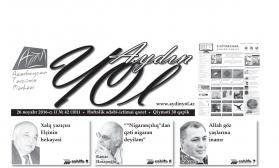 """""""Aydın yol"""" 26 noyabr 2016-cı il"""