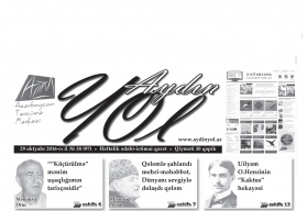 """""""Aydın yol"""" 29 oktyabr 2016-cı il"""