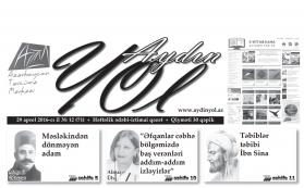 """""""Aydın yol"""" 29 aprel 2016-cı il"""