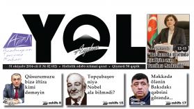 """""""Aydın yol"""" 31 oktyabr 2014-cü il"""
