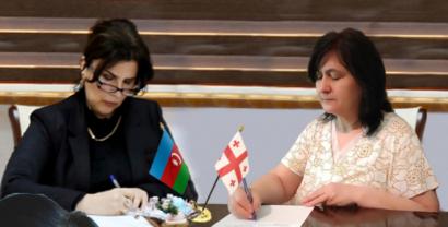 Zwischen dem Staatlichen Übersetzungszentrum und dem Nationalen Schriftstellerverband von Georgien wurde ein Memorandum unterzeichnet