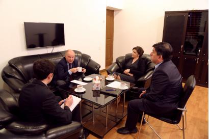 Глава бакинского бюро TRT посетил Переводческий Центр