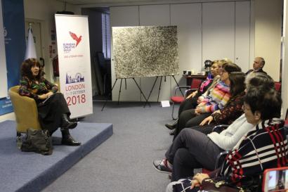 En Londres se llevó a cabo la presentación del libro de poemas de Leyla Aliyevа, «El mundo se derrite como un sueño...» publicado en inglés