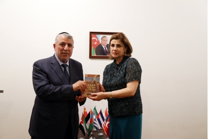 Head of the Community of Azerbaijan's Mountain Jews visits  AzTC