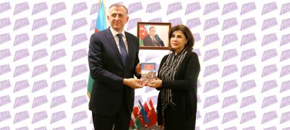 Georgian Ambassador Visits Azerbaijan State Translation Centre