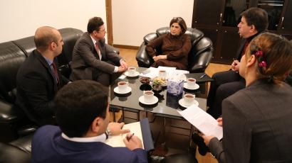 Советник-посланник посольства Российской Федерации посетил Переводческий Центр