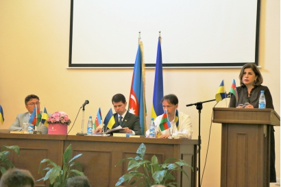 Ukrainian authors host successful book launch in Mirza Fatali Akhundov National Library