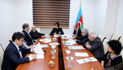 Azerbaycan Cumhuriyeti Bakanlar Kuruluna Bağlı Tercüme Merkezi'nin Bilim Kurulu Yeniden Toplandı