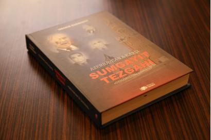 """Kniha """"Sumgajitská provokace proti Ázerbájdžánu. Fascikl Grigorjana"""" je vydána v Turecku"""