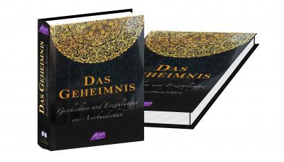 """Vyšla kniha """"Záhada"""" Ázerbájdžánské povídky  v Německu"""